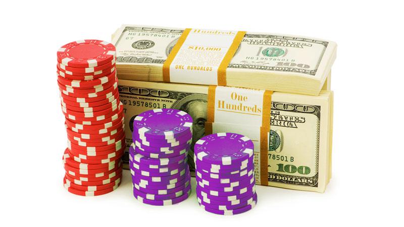 Casino Money and Chips